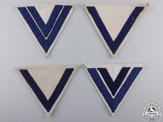 Two Pairs of Second War Kreigsmarine Rank Chevrons