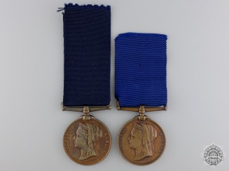 Two Queen Victoria Diamond Jubilee Medals