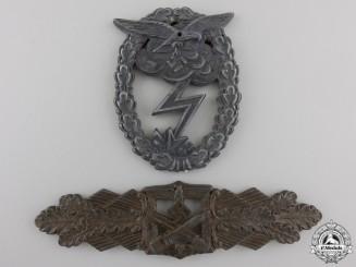 Two Second War German Badge