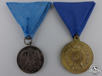 Two Serbian Medals and Awards