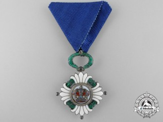 An Order of the Yugoslav Crown; 5th Class Knight