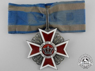 Romania, Kingdom. An Order of the Crown, Commander's Cross, c.1918