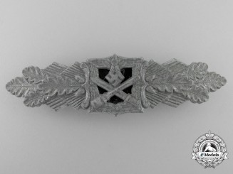 A Silver Grade Close Combat Clasp by Funke & Brninghaus, Ldenscheid