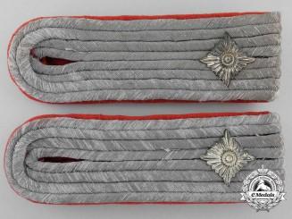 A Set of German Army Oberleutnant Artillery Shoulder Boards