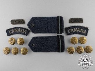 A Lot of Second War Royal Canadian Air Force Insignia