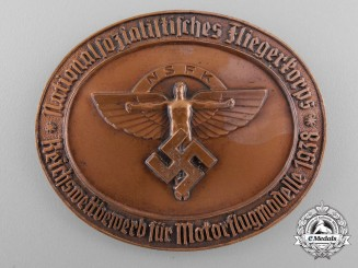 A 1938 German National Socialist Flyers Corps Award