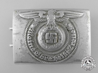 An SS EM/NCO'S Belt Buckle by Overhoff & Cie. Lüdenscheid