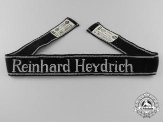 A Waffen SS Reinhard Heydrich Cufftitle; 6th Mountain Divison