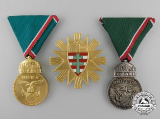 Three post 1945 Hungarian Awards