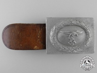 A 1935 Pattern Prototype Luftwaffe EM/NCO's Belt Buckle; Published Example