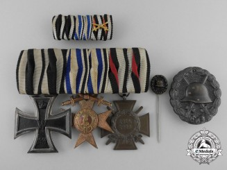 A First War Bavarian Medal & Award Grouping