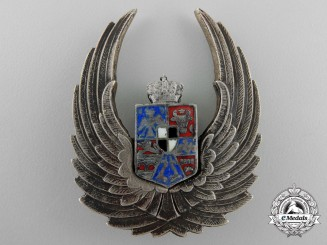 Romania, Kingdom. A Royal Air Force Observer's Badge
