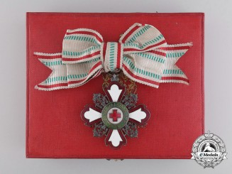 A Bulgarian Red Cross Order; Second Class