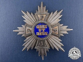 A Royal Bavarian Merit Order of St. Michael; Grand Cross by Godet