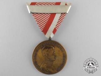 A Austrian Emperor Karl Golden Bravery Medal
