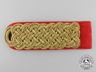 An SA Officer's Shoulder Board
