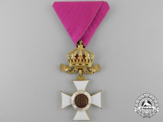 A Bulgarian Order of St. Alexander; Fifth Class