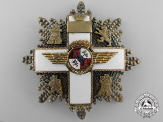 A Spanish Order of Aeronautical Merit; 2nd Class 1938-1975