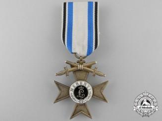 A Bavarian Military Merit Cross; 1st Class with Swords