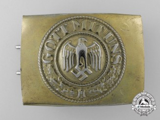 A Kriegsmarine Enlisted Man's Belt Buckle by Paul Cramer & Co.