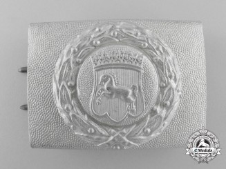 A Hanover Fire Defence Service Enlisted Man's Belt Buckle