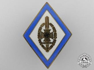 An NSKOV (Veteran's Organization) Honor Badge