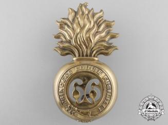 A Canadian Militia 66th Princess Louise Fusiliers Badge