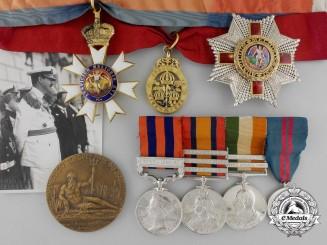 The K.C.M.G., C.B. Group of Six to Lieutenant-Colonel Sir J.G. Baldwin