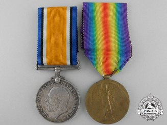 Canada. A First War Medal Pair to the 19th Infantry Battalion