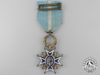 A Spanish Order of Charles III; Breast Cross c.1890