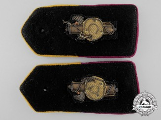 A Pair of Italian Second War Shoulder Boards