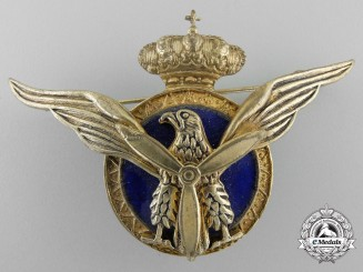 A Spanish Military Transport Pilot's Badge