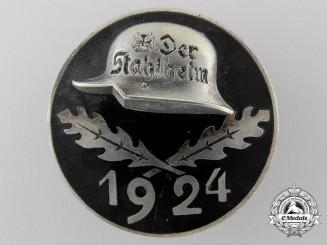 A 1924 Stahlhelm Badge