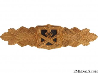Ultra Rare Gold Presentation Close Combat Clasp
