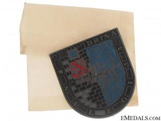 Ustasha Black Legion Badge