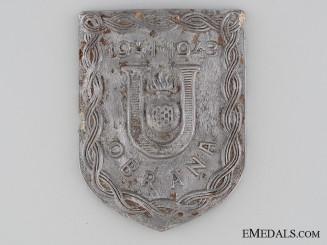 Ustasha Defense Badge