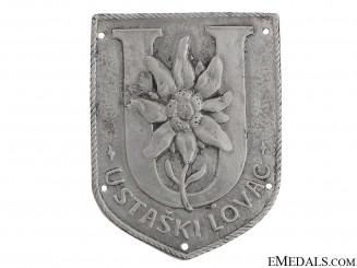 Ustaski Lovac Badge