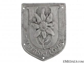Ustaski Lovac Badge