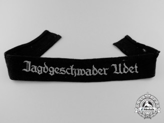 A Tunic Removed Jagdgeschwader Udet Cufftitle