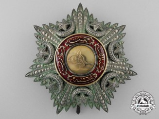 A Turkish Order of Medjidie; Breast Star c.1885