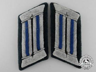 A Set of German Army Medical Collar Tabs