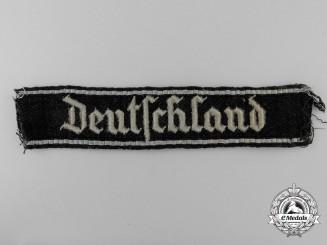 A Waffen SS Deutschland EM/NCO's cufftitle