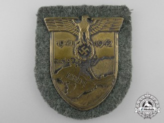 An Army Issue Krim Campaign Shield