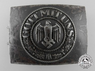 A Kriegsmarine Enlisted Man's Belt Buckle by Josef Feix & Söhne