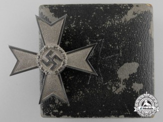 A War Merit Cross First Class with Case by Steinhauer & Lück