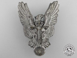 A First War Period Romanian Air Force Pilot's Badge