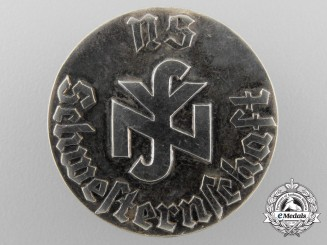 Germany. A Solid Silver German Nurse's Badge
