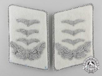 A Pair of Herman Göring Division Hauptmann's Collar Tabs