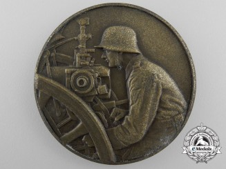 A 1937 Artillery Competition Third Place Award Medal