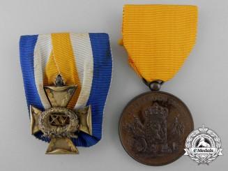 Two Second War Period Dutch Medals & Awards